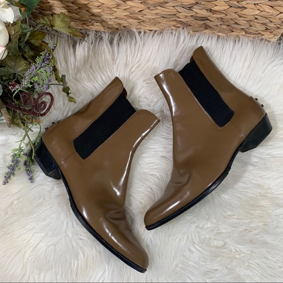 TOD'S Pointed Toe Booties Size 37